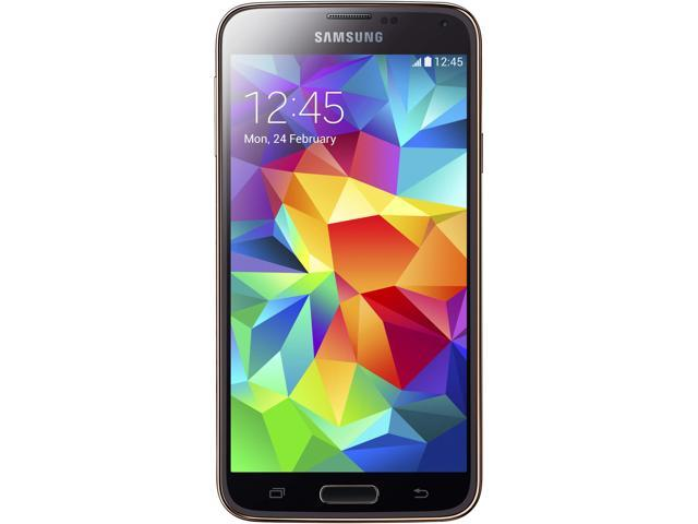 Samsung Galaxy S5 G900A Gold AT&T Cell Phone