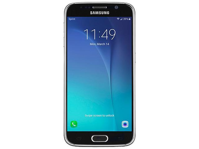 "Refurbished: Samsung Galaxy S6 G920S 4G LTE Black Unlocked Cell phone 5.1"" 3GB RAM"