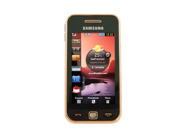 Samsung Star Black/Gold Unlocked GSM Touch Screen Phone with 3.2MP Camera/ 10 Hours Talk Time/ Bluetooth (S5230)