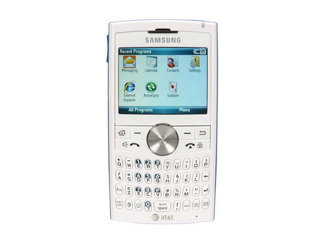 "Samsung BlackJack II SGH-I617 128 MB RAM, 256 MB ROM Unlocked GSM Smart Phone w/Full QWERTY Keyboard 2.4"" White"