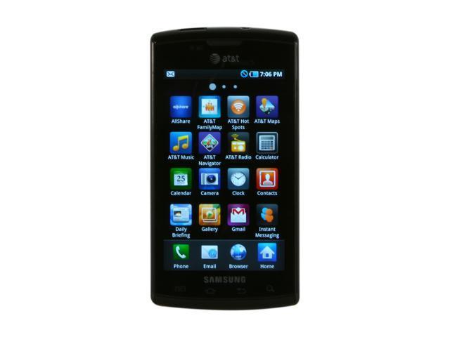 "Samsung Captivate SGH-i897 16GB 3G Unlocked Smart Phone w/ 5.0MP Camera, Auto Focus / Wi-Fi / GPS / 16GB Storage 4.0"" 512MB ..."