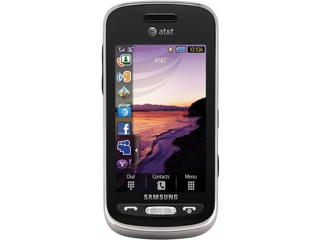 "Samsung Solstice SGH-A887 189 MB Unlocked GSM Phone w/ A-GPS Support / 3.0"" Screen / Voice Memo / Predictive Text Input 3.0"" ..."