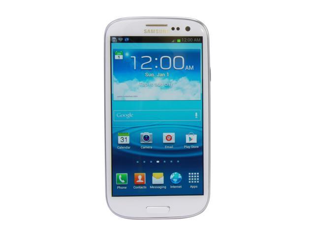 AT&T Samsung Galaxy S3 16GB White 4G LTE Dual-Core 1.5GHz SGH-i747