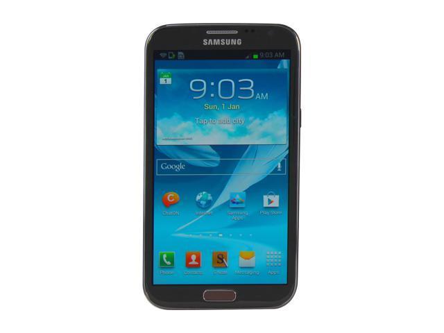 Samsung Galaxy Note II N7100 Titanium Gray 3G Unlocked Cell Phone w/ 5.5