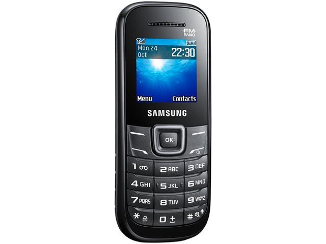 "Samsung Keystone 2 E1205L 2MB 2G Unlocked GSM Extreme Durability Cell Phone 1.52"" Black"