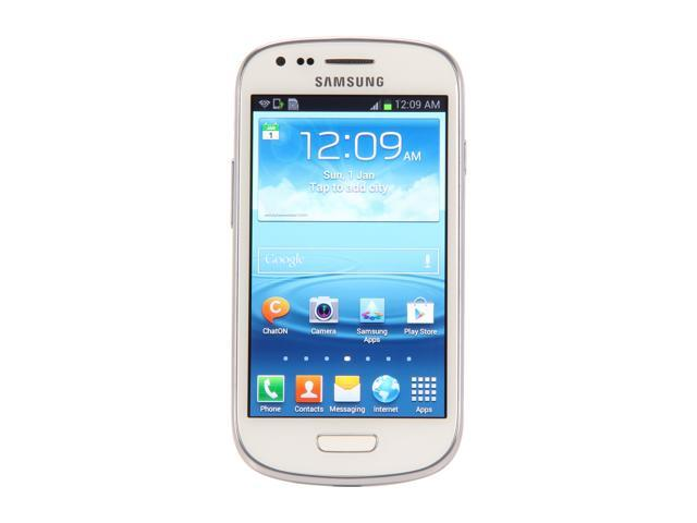 "Samsung Galaxy S3 mini GT-i8190L/GT-i8190 8 GB, 1 GB RAM 8GB Unlocked Cell Phone 4.0"" White"