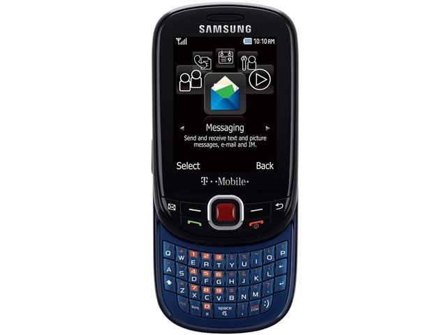 Samsung Elevate SGH-T356 Black/Blue Unlocked Cell Phone
