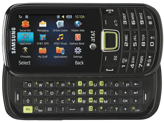 "Samsung Evergreen SGH-A667 256 MB Unlocked Cell Phone 1.92"" Black"