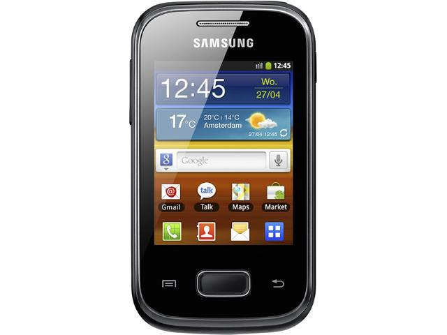 Samsung Galaxy Pocket S5300 Black Unlocked Cell Phone