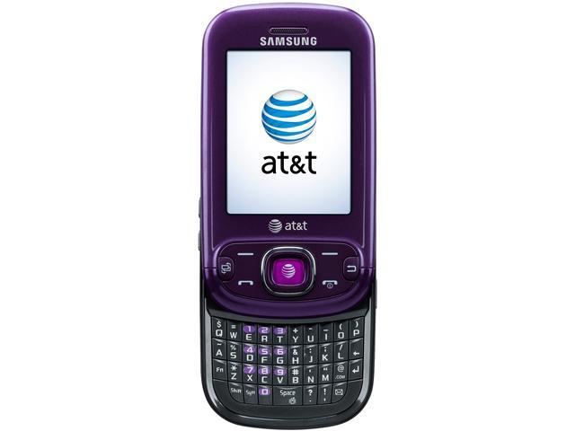 Samsung Strive SGH-A687 Purple 3G Unlocked Cell Phone