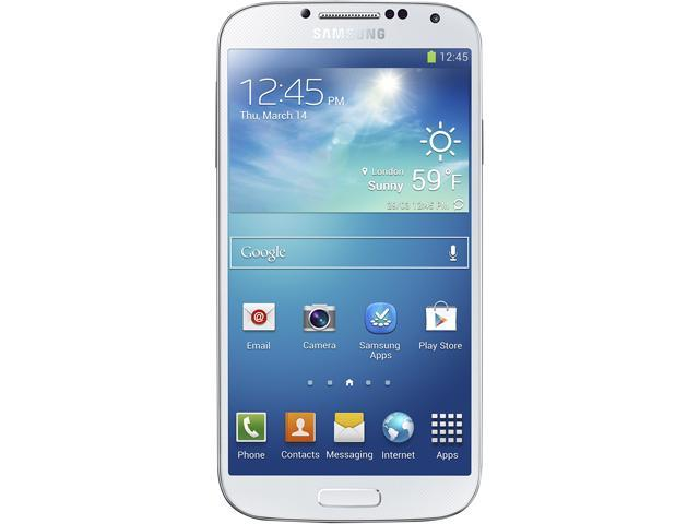 "Samsung Galaxy S4 I9500 16GB 3G 16GB Unlocked Cell Phone 5"" 2GB RAM White"