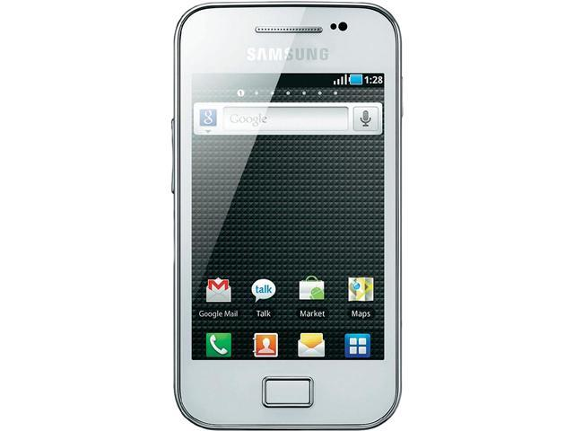 Samsung Galaxy Ace GT-S5830 White Unlocked Cell Phone