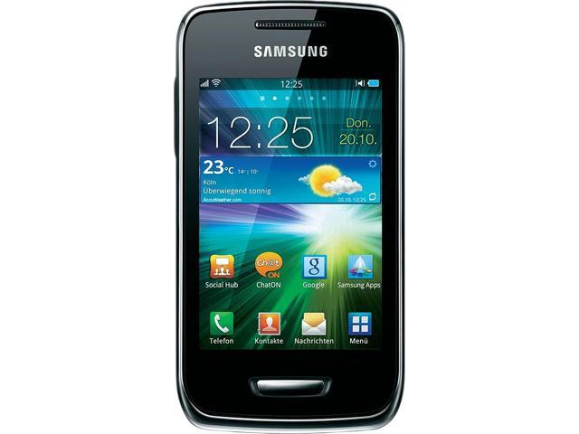 Samsung Wave Y S5380 Silver Unlocked Cell Phone