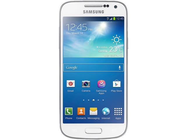 "Samsung Galaxy S4 mini i9192 8 GB (5 GB user available) 3G Unlocked Cell Phone 4.3"" 1.5GB RAM White"
