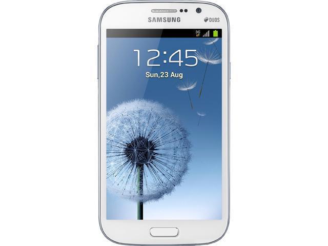 """Samsung Galaxy Grand i9082 8 GB, 1 GB RAM 8GB Dual SIM Unlocked Cell Phone 5"""" White"""