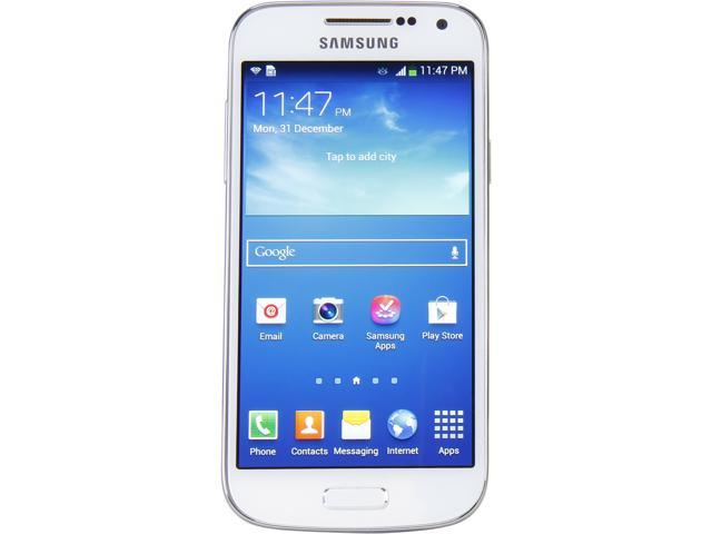 Samsung Galaxy S4 mini GT-I9190 White 3G Unlocked Cell Phone