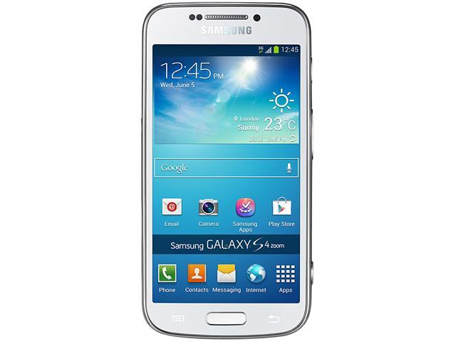 "Samsung Galaxy S4 Zoom SM-C101 8 GB (5 GB user available) 3G Unlocked GSM Cell / Camera Phone 4.3"" 1.5GB RAM White"