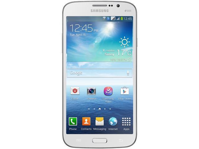Samsung Galaxy Mega 5.8 I9152 White Unlocked GSM Dual-SIM Android Phone