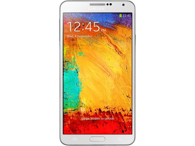 Samsung Galaxy Note 3 N9000 32 GB White 3G Quad-core 1.9 GHz Cortex-A15 & quad-core 1.3 GHz Cortex-A7 Unlocked Cell Phone