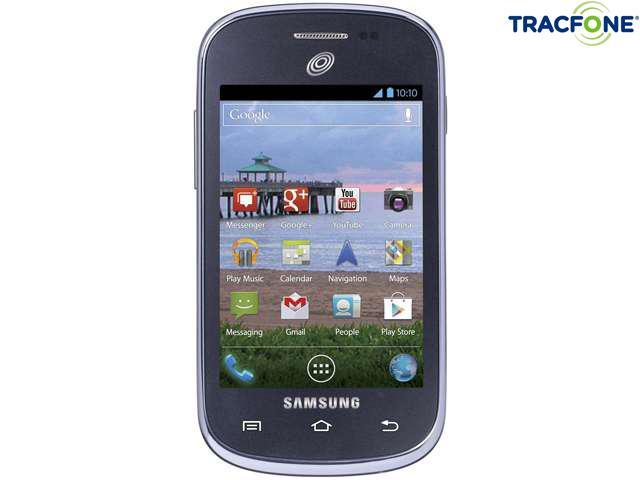 Tracfone Samsung Galaxy Centura Android Cell Phone w/ 600min (200min w/ triple minutes for life handset)