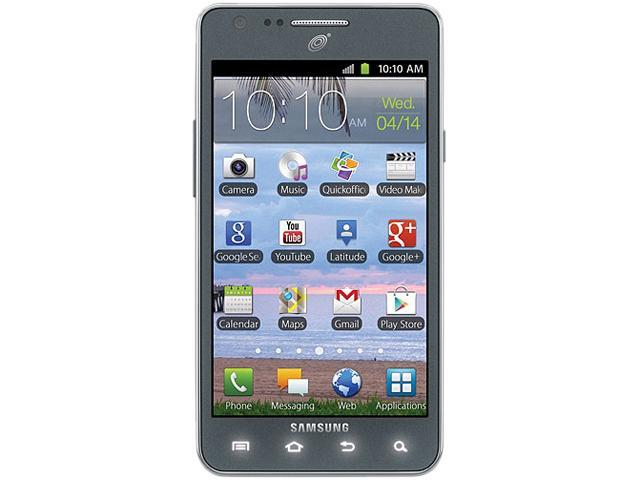 """Samsung Galaxy S2 S959G / I777 16GB Unlocked GSM Android Cell Phone 4.3"""" Grey"""