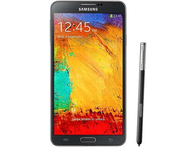 Samsung Galaxy Note 3 N9000 Black Unlocked GSM Android Cell Phone