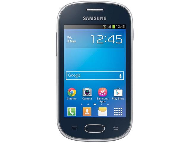 Samsung Galaxy Fame Lite DUOS S6792 Black Unlocked GSM Android Cell Phone