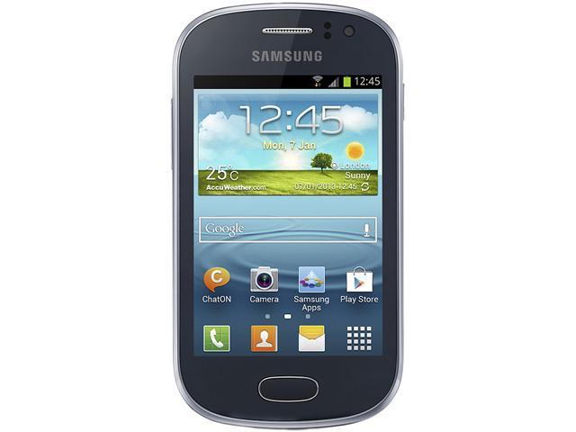 Samsung Galaxy Fame S6810 Blue Unlocked GSM Android Cell Phone