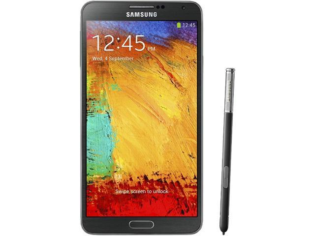 Samsung Galaxy Note 3 LTE N9005 Black 3G 4G LTE Quad-Core 2.3 GHz 32GB Unlocked GSM Android Cell Phone