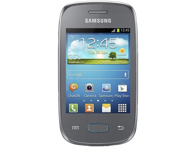"Samsung Galaxy Pocket Neo S5310 4 GB, 512 MB RAM Unlocked GSM Android Cell Phone 3.0"" Silver"
