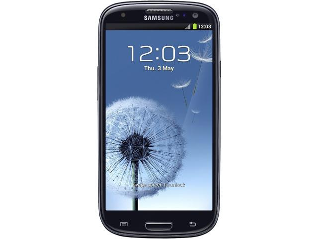 Samsung Galaxy S3 I9305 Black 16GB 4G LTE Unlocked GSM Android Cell Phone