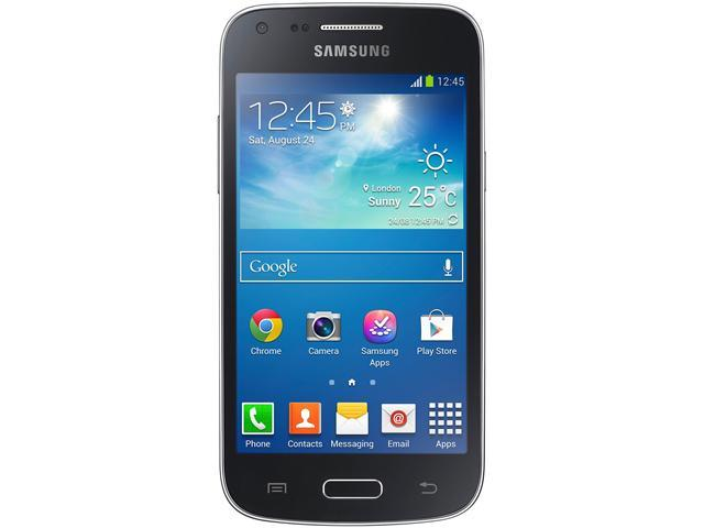 "Samsung Galaxy Core Plus G3502L 4GB Unlocked GSM Dual-SIM Android Phone 4.3"" Black"