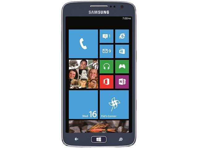 Samsung sgh a137 dark blue unlocked gsm flip phone with speaker phone