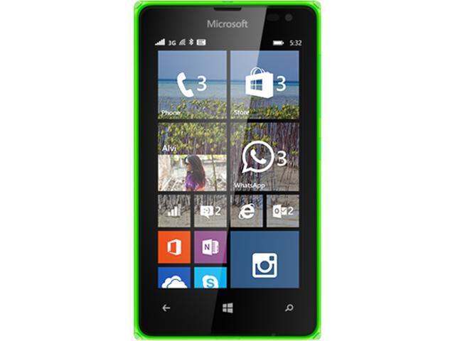Microsoft LUMIA 532 RM-1034 CV LTAU1 BR_GREEN HS Green Unlocked Cell Phone