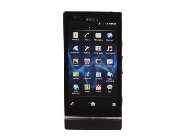Sony Xperia P LT22i 16 GB (13 GB user-available), 1 GB RAM Unlocked Android GSM Smart Phone with Sony WhiteMagic Technology ...