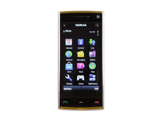 Nokia X6 Blue / White / Silver