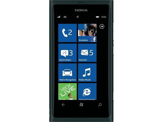 Nokia Lumia 800 16 GB storage, 512 MB RAM 16GB Unlocked GSM Windows Smart Phone w/ Windows Phone 7.5 Mango / 8 MP Camera ...
