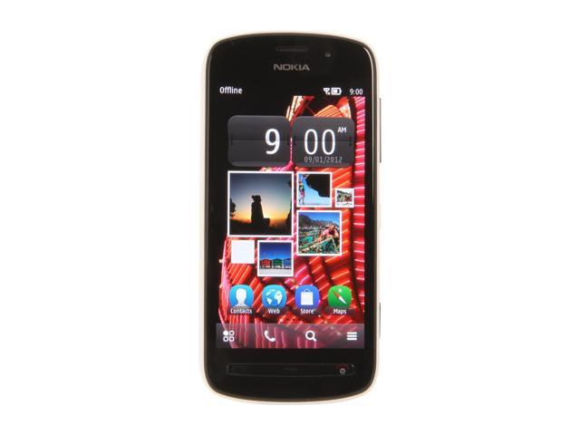 Nokia PureView 808 16 GB storage, 1 GB ROM, 512 MB RAM Unlocked GSM Touch Screen Smart Phone with Wi-Fi / Bluetooth / 41 ...