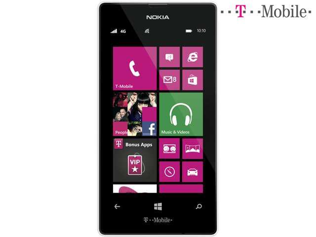 Nokia Lumia 521 T-Mobile White Yes Cell Phone