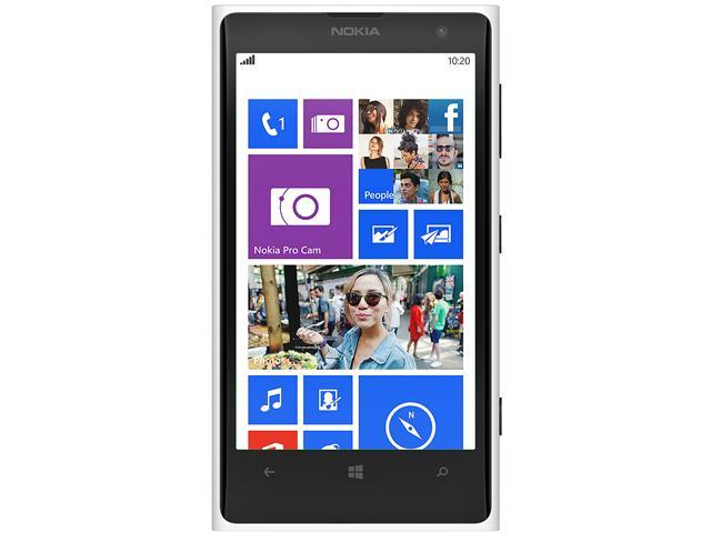 Nokia Lumia 1020 Blanco/White 3G 4G LTE Unlocked Cell Phone (US LTE Bands)