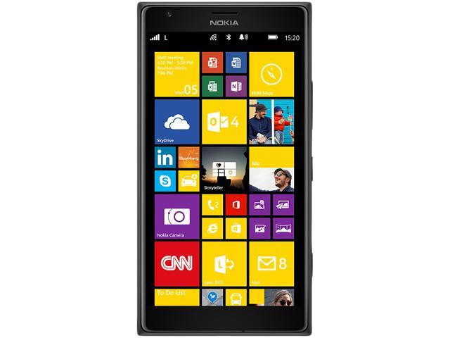 Nokia Lumia 1520.3 Black 3G 4G LTE Unlocked Cell Phone (US LTE Bands)