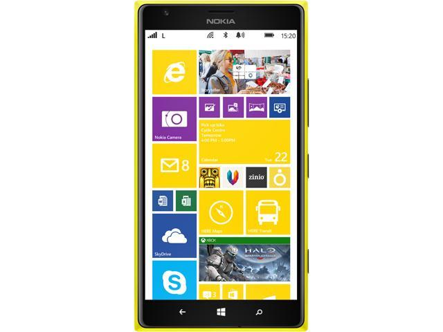 "Nokia Lumia 1520.3 32GB Unlocked Cell Phone (US LTE Bands) 6"" Amarillo/Yellow"