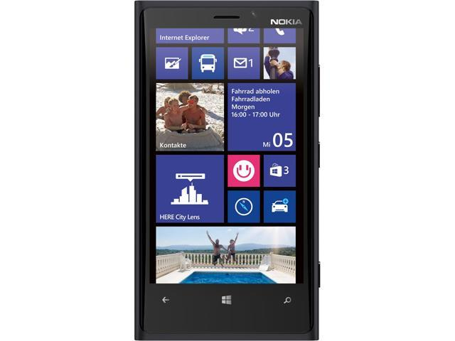 Nokia Lumia 920 Black 32GB AT&T Unlocked GSM Windows 8 OS Cell Phone
