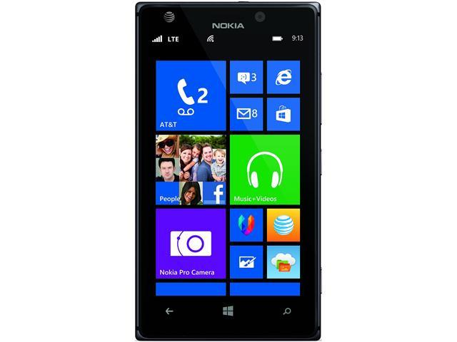 Nokia Lumia 925 RM-893 Black LTE 16GB 4G LTE AT&T Locked Windows 8 Cell Phone