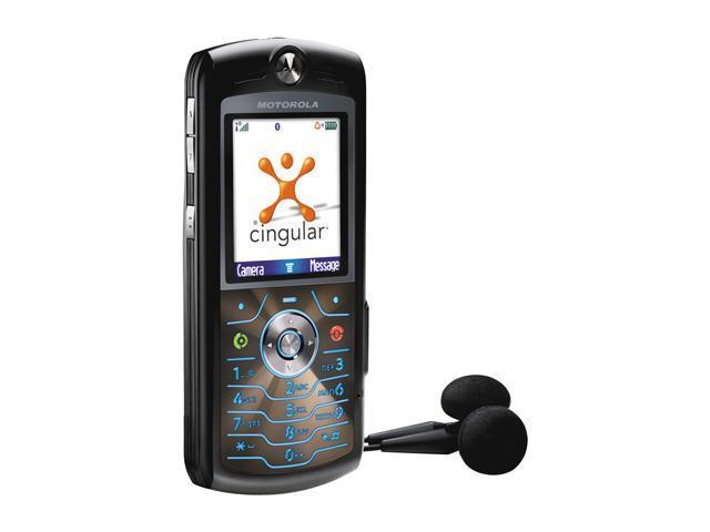 MOTOROLA L7 Cell phone Black