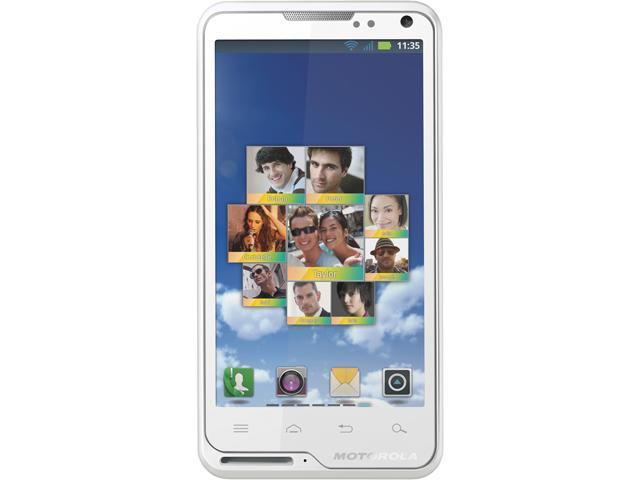 "Motorola Motoluxe XT615 1 GB ROM, 512 MB RAM Unlocked Cell Phone 4.0"" White"