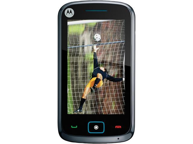 "Motorola EX122 128 MB ROM, 64 MB RAM Unlocked GSM Cell Phone 3.2"" Black"