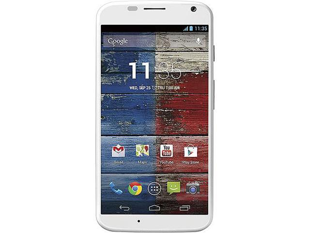 Motorola Moto X XT1058 White Unlocked GSM Android Cell Phone