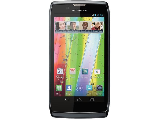 "Motorola Razr V XT886 4 GB storage, 1 GB RAM Unlocked GSM Android Cell Phone 4.3"" Black"