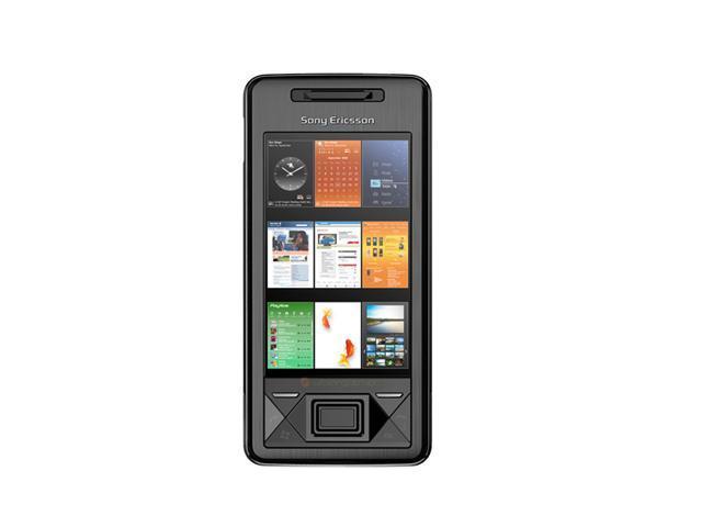"Sony X1 256 MB RAM, 512 MB ROM Unlocked Cell Phone 3.0"" Black"